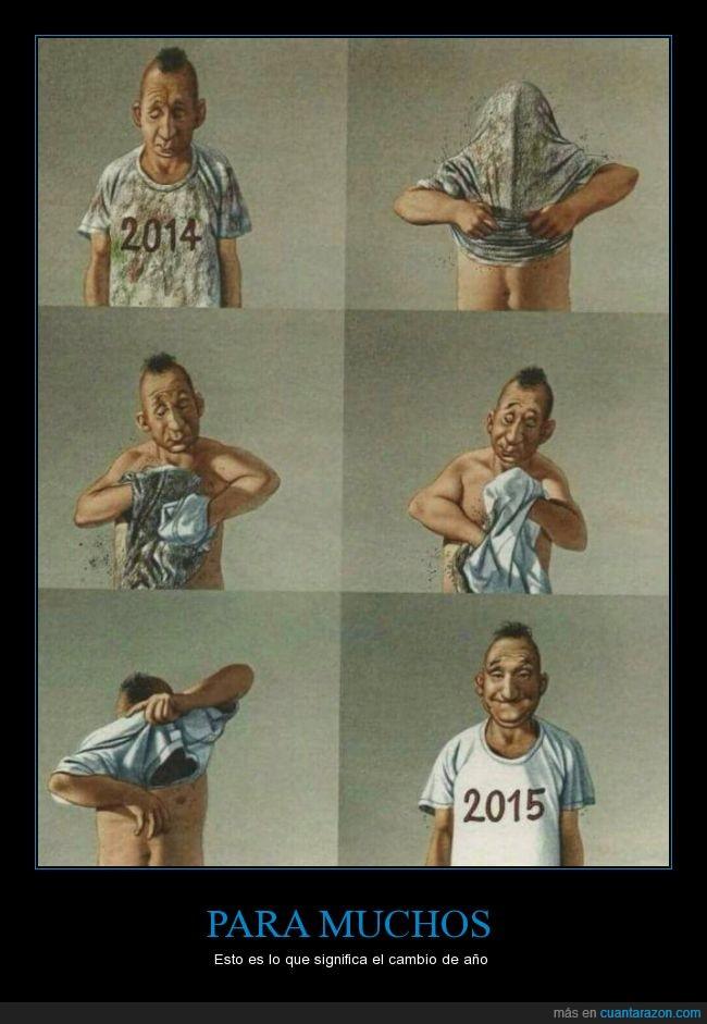 año,camisa mismo,cinismo,igual,limpio,lo mismo,parche,parece,sonrisa,suciedad