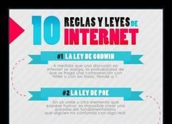 Enlace a LAS LEYES DE INTERNET