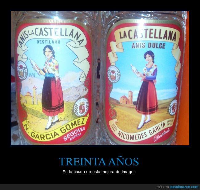 anis,años,botella,castellana,chica,etiqueta,falda,mejora,roja,treina