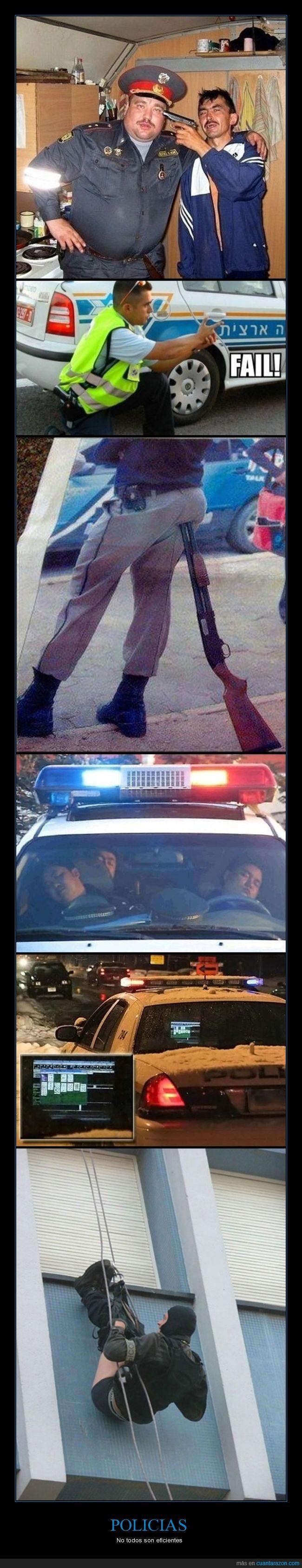 calzoncillos,coche,cutre,fail,malos,pateticos,pistola,policias