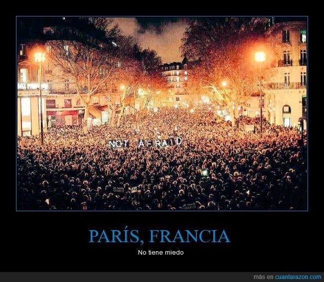 asustado,Charlie Hebdo,francia,islam,manifestacion,miedo,musulman,París,religion
