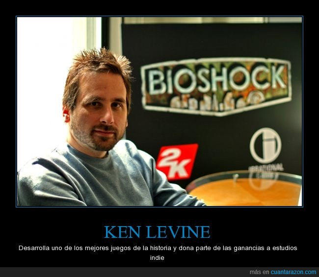 2k,Bioshock,creador,Irrational,Ken Levine