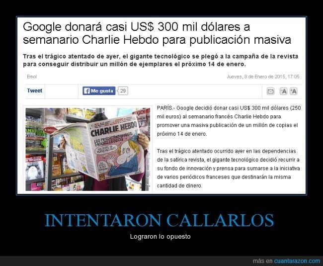 charlie hebdo,francia,google,masacre,paris,prensa,revista