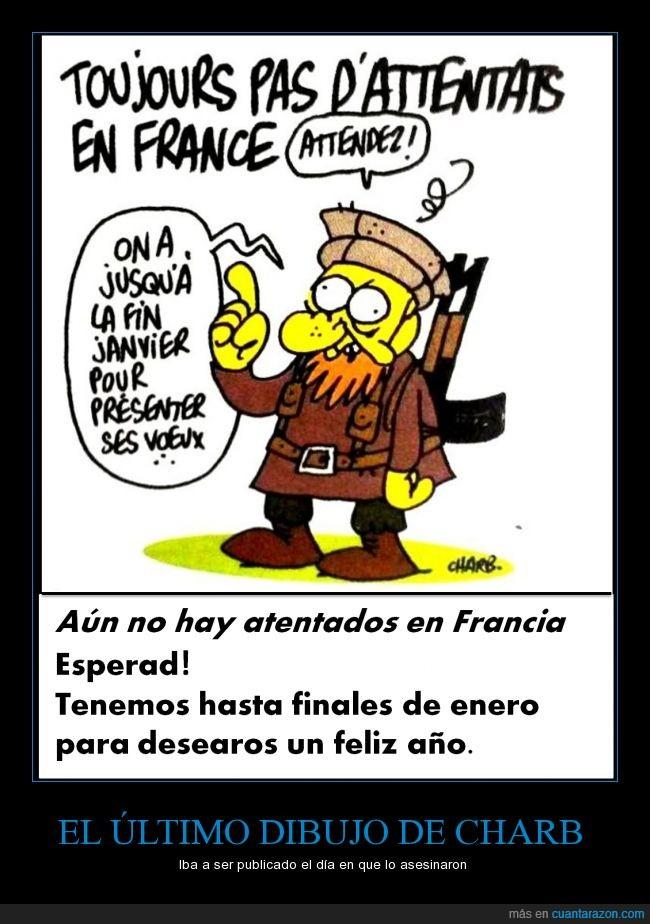 7 enero 2015,atentado,caricatura,Charb,Charlie Hebdo,libertad de expresion,Paris,RIP,yihadista