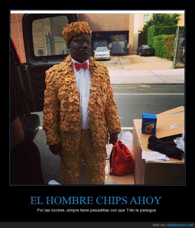 Chips Ahoy,comida,elegante,galleta,hombre,negro,traje