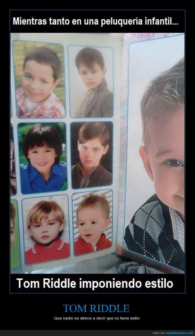cabello,corte,estilo,Harry Potter,niño,revista,swag,Tom Riddle,Voldemort