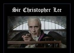 Enlace a SIR CHRISTOPHER LEE