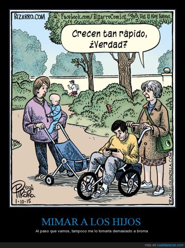adulto,carrito,carro,crecen,crecer,hijo,hombre,madre,mujer,niño,rápido