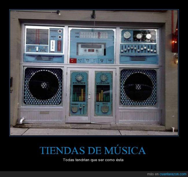 altavoz,cassete,decoración,escaparate,minicadena,música,perfecto,tienda