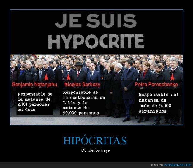 ataque,Charlie Hebdo,gobierno,Netanjahu,Poroschenko,Sarkozy