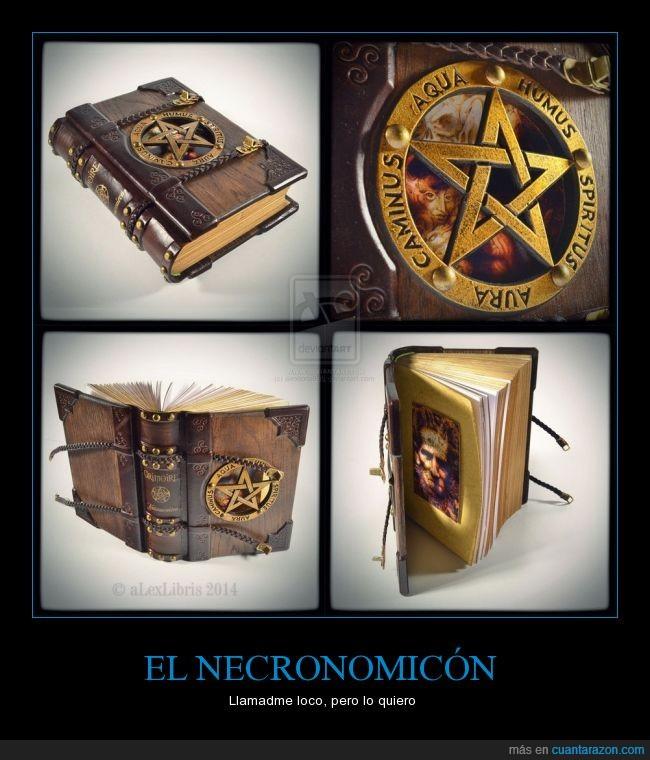 belleza,diario,El Necronomicon,libro maldito