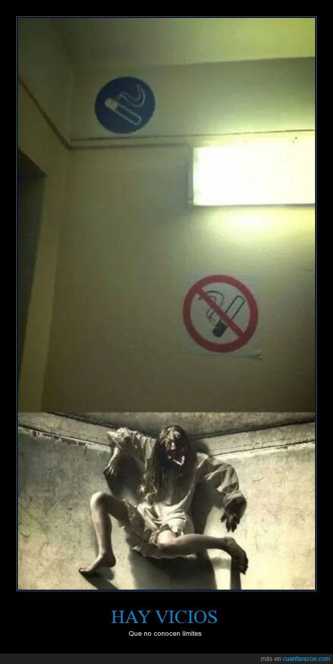 alto,altura,cigarros,El último exorcismo,la llorona,prohibido fumar