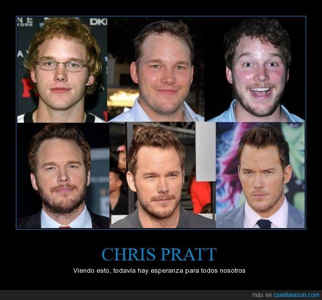 actor,adolescencia,Chris Pratt,evolución,guapo,guardianes de la galaxia,Parks and recreation