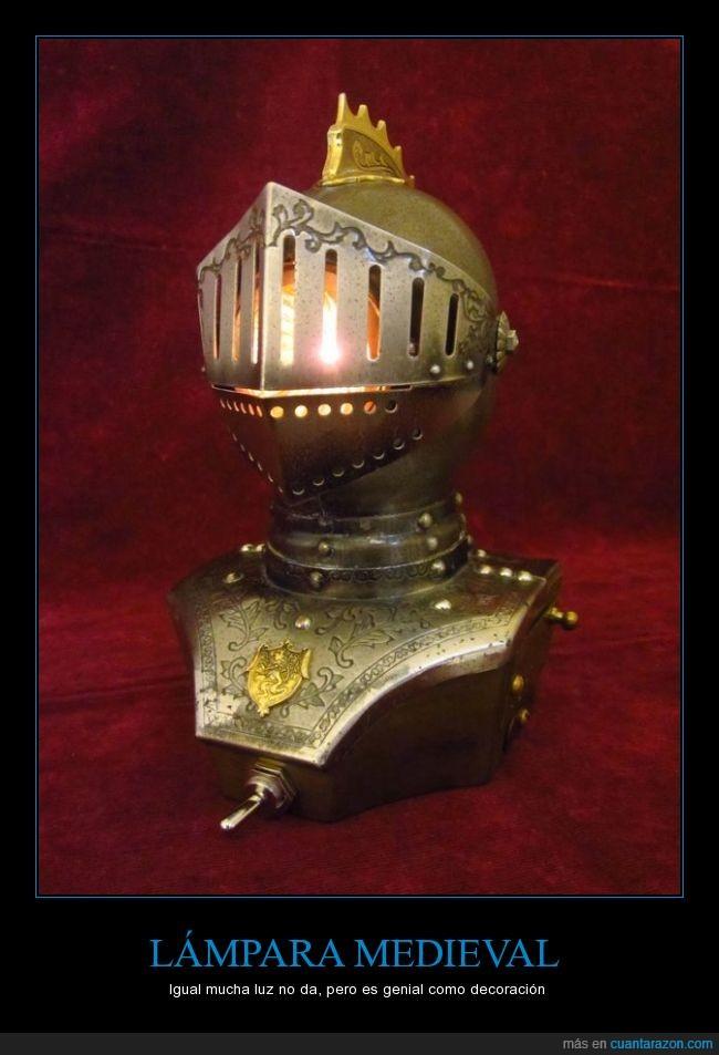armadura,casco,decoración,edad media,lámpara,medieval,protección