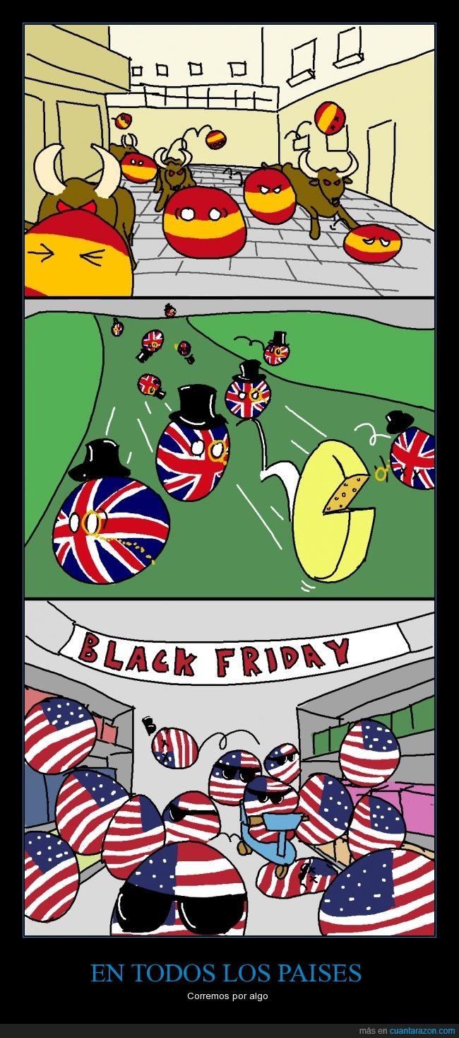 bajo,Black Friday,Correr,EE.UU,España,Quesos,san fermin,Toros