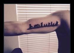 Enlace a Tatuaje sencillo, pero encantador