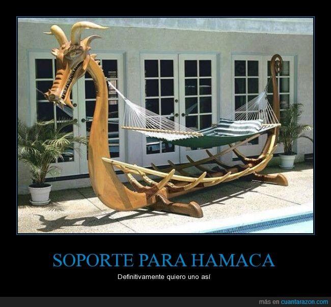 barco,casa,hamaca,piscina,tumbar,tumbona,vikingo