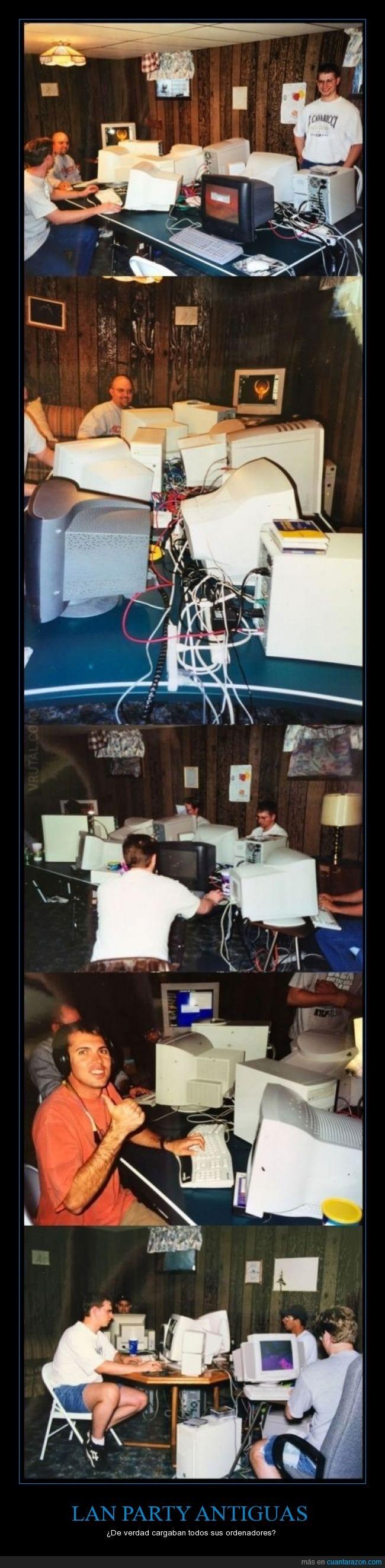 antiguo,gamer,jugar,lan party,ordenador,pantalla,tiempos mejores,torre,videojuegos,viejo