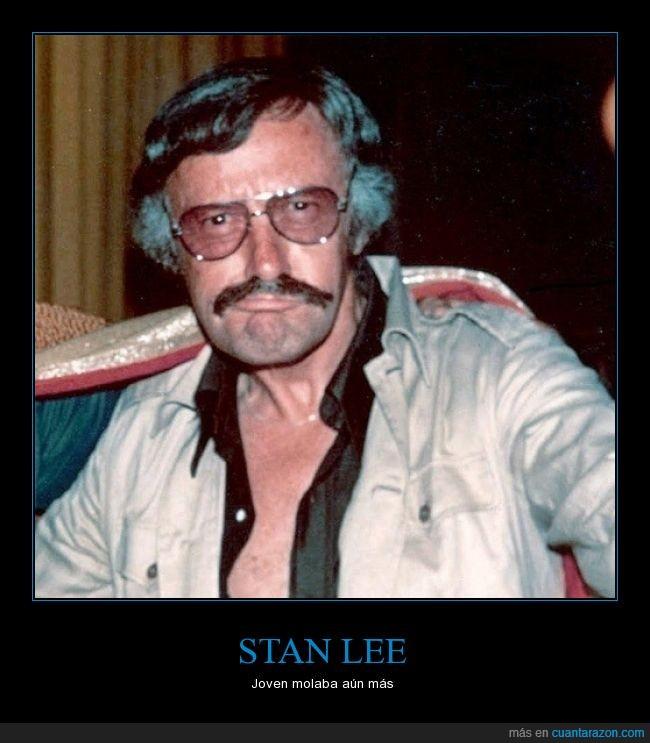 80,comic,joven,juventud,marvel,Stan Lee
