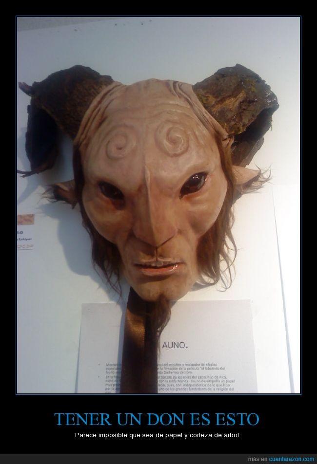 Artes,El laberinto del fauno,fauno,Mascara,Pan's labyrinth,Talento
