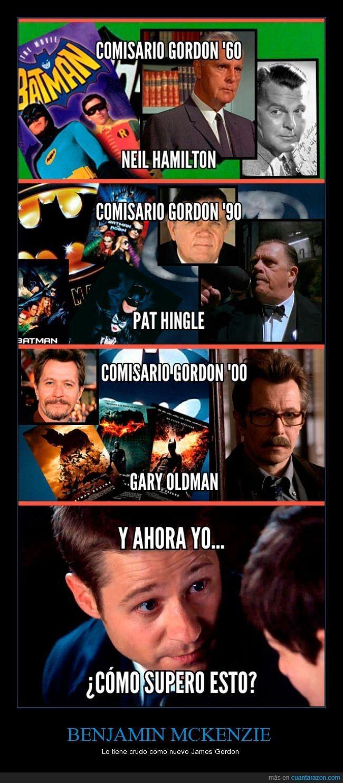 Batman,comisario,Gary Oldman,Gordon,Gotham,Mckenzie