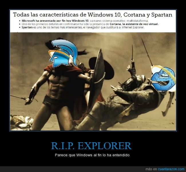 cortana,explorer,internet,nuevo,spartan,windows 10