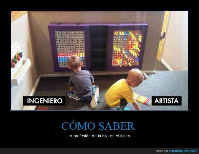 artista,color,futuro,hijo,Ingeniero,juguete,luz,magnética,niño,orden,pizarra,profesion
