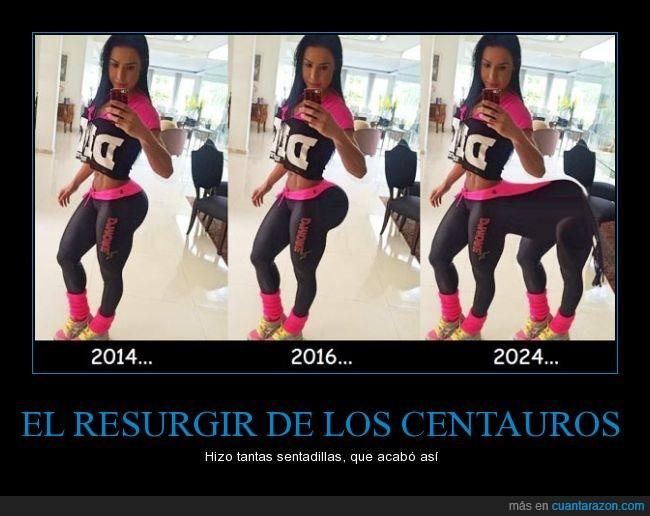 centauro,espejo,fitness,mujer,selfie,sentadilla,trasero