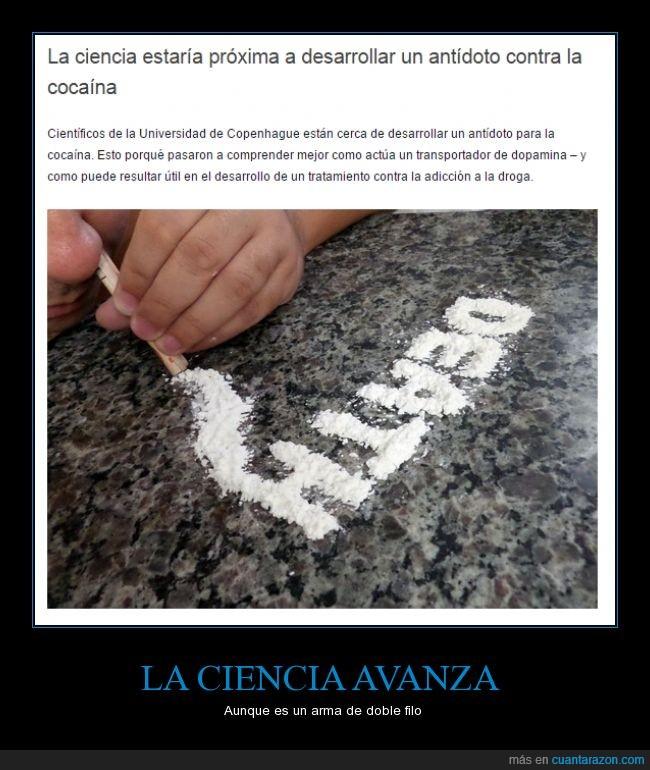 adiccion,cocainomanos,cura,dopamina,se acaba el narcotrafico,tratamiento