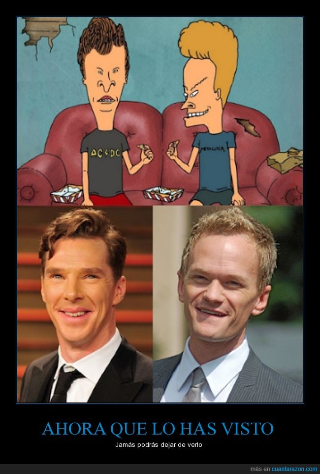 Beavis and butthead,Benedict Cumberbatch,Neil Patrick Harris