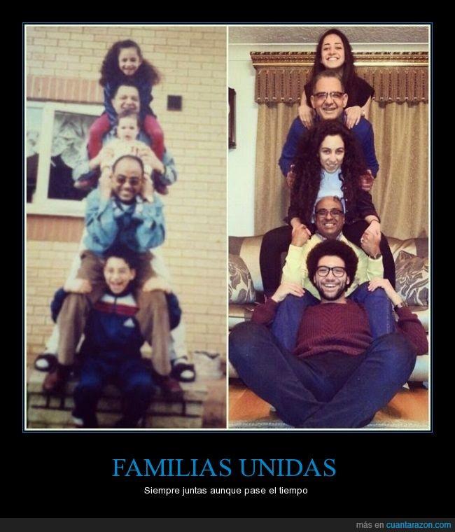 años,años después,familia,foto familiar,recuerdos,tiempo,totem