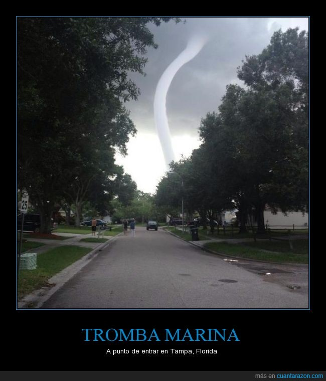 calle,contingencia,emergencia,Florida,naturaleza,Tampa,tornado