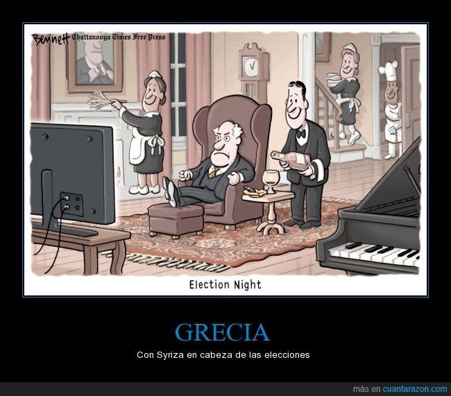 alexis,dinero,elecciones,feliz,grecia,podemos,pueblo,ricos,sirviente,syriza,trabajadores,tsipras