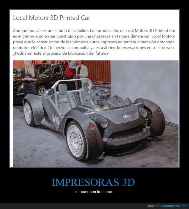3d,coche,convertible,descapotable,impresora