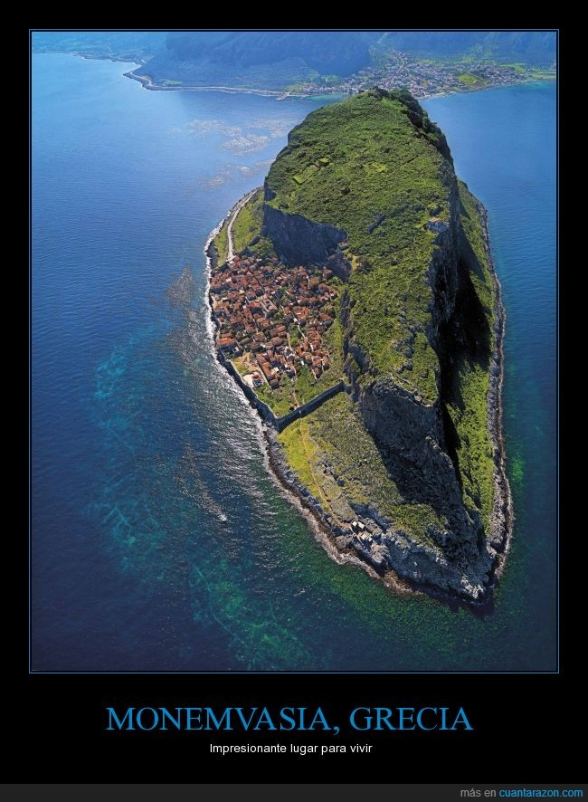 grecia,isla,lugar,Monemvasia,nadar,paradisiaca,paraíso,vivir