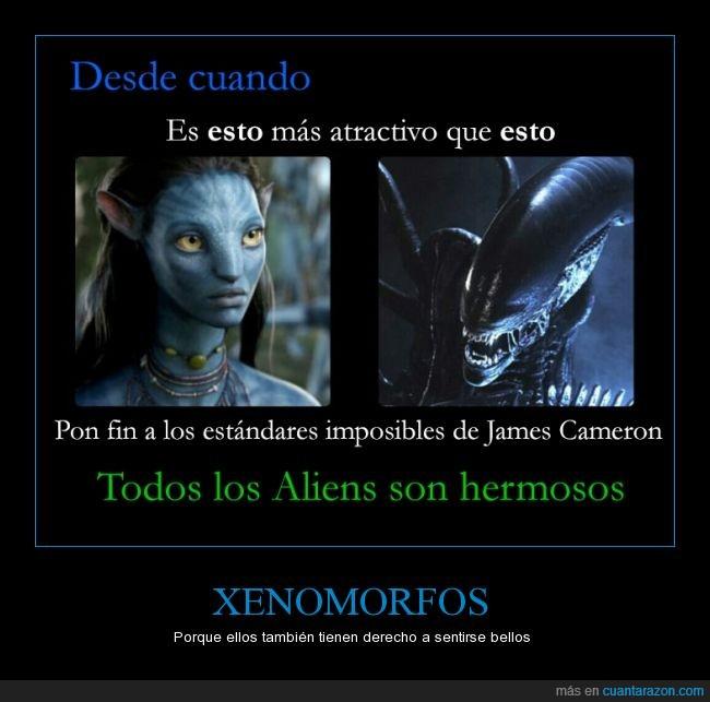 Alien,Avatar,guapa,James Cameron,madre,Na´vi,Xenomorfo