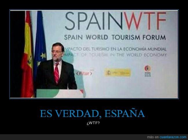 coincidencia,cumbre,presidente,Rajoy,siglas,world tourism forum,wtf