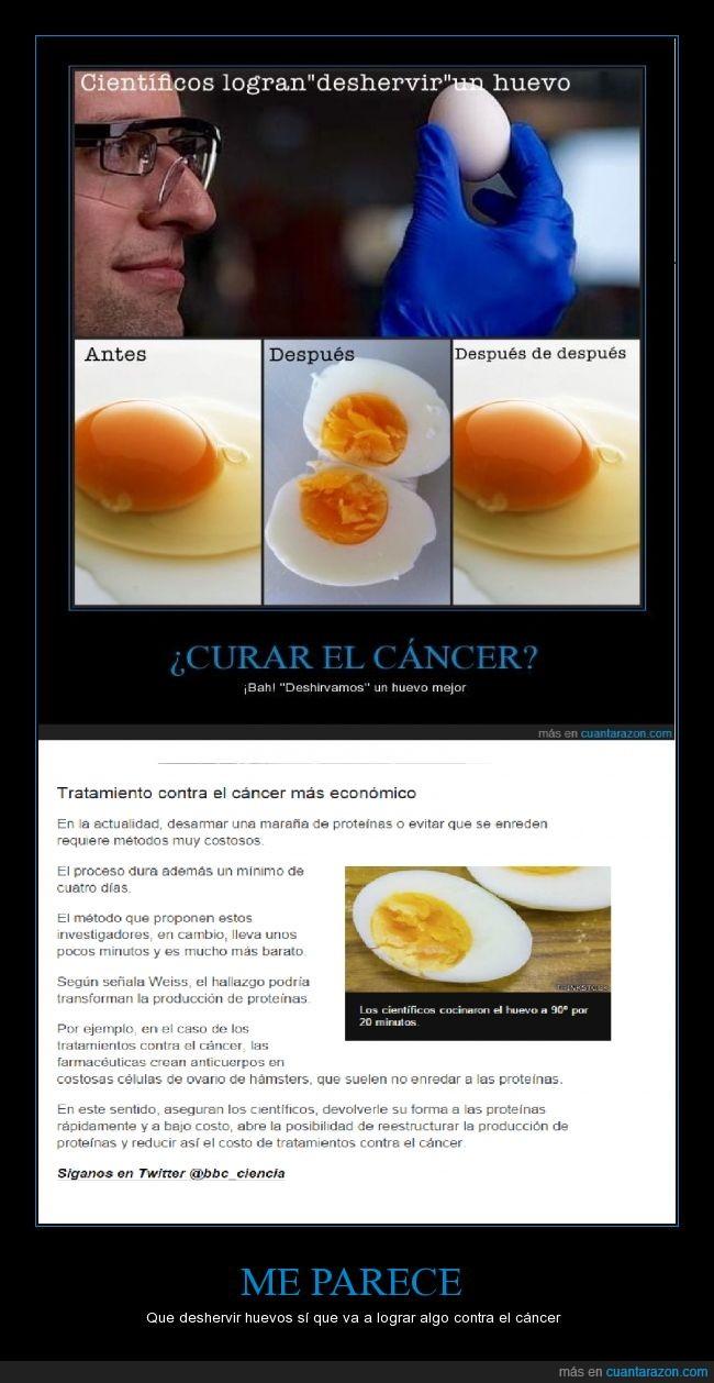 cancer,ciencia,cocina,deshervir,hervir,nuevo,util