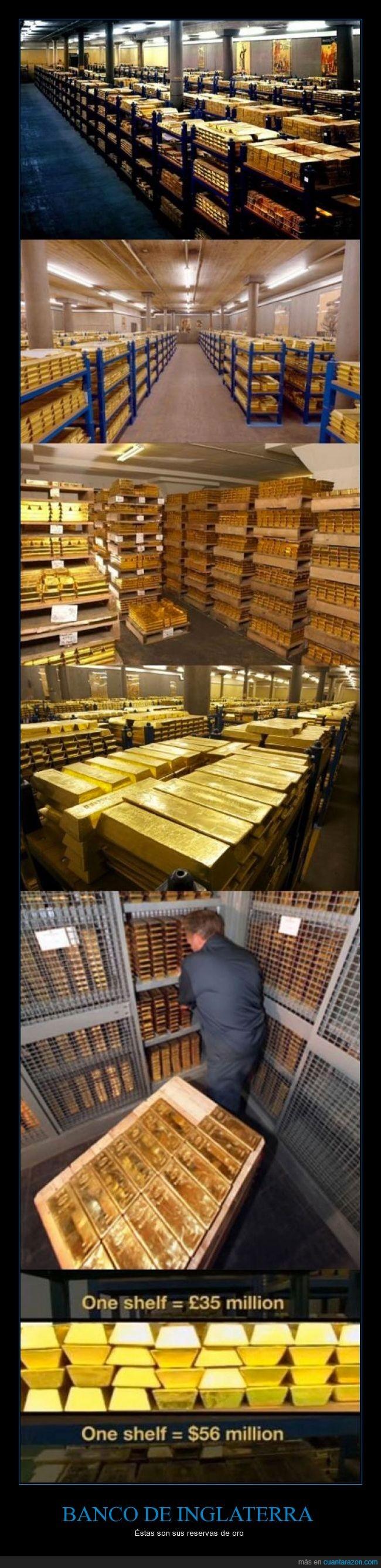 dinero,millones,no tienen la reserva más grande,oro,ricos