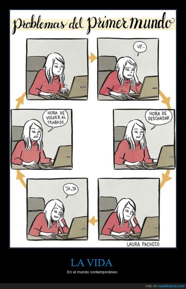 descansar,internet,Laura pacheco,mundo,primer,problema,procrastinar,trabajar,trabajo,video