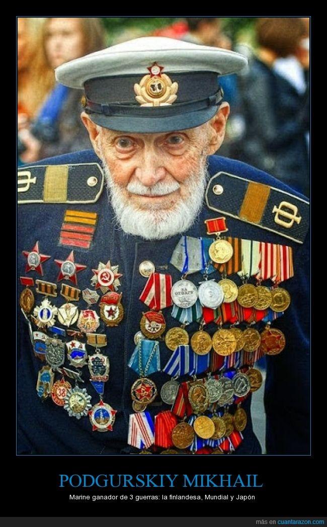 finlandesa,guerras,héroe,Japón,militar,Mundial,Podgurskiy Mikhail,veterano,victorias