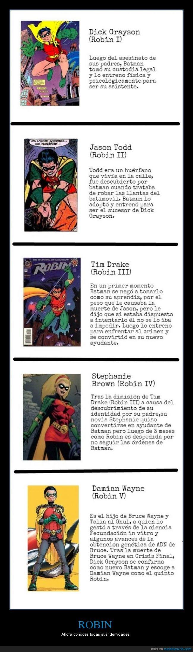 batgirl,batman,batman y robin,bruce wayne,DC,DC comics,Detective Comics,dick grayson,jason tood,mejor que superman,robin,spoiler,stephanie brown damian wayne,super heroes,tim drake