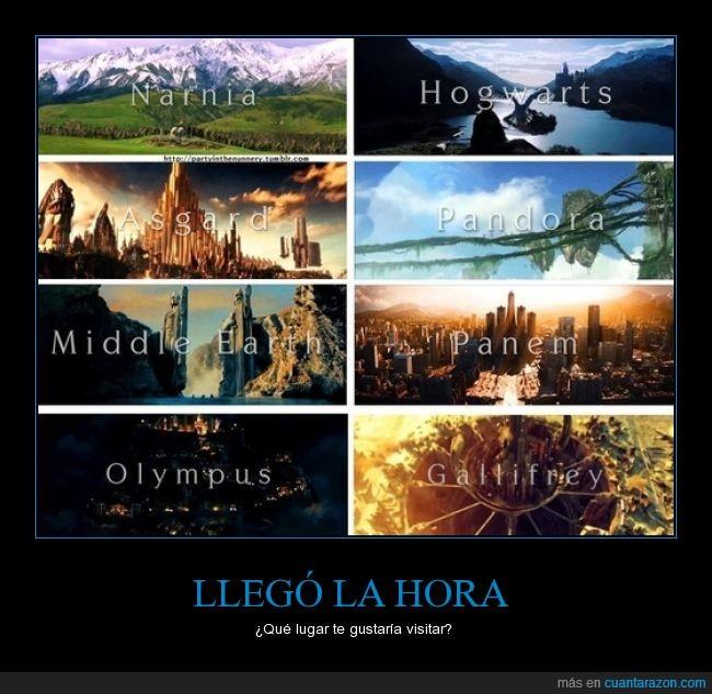 Asgard,fantasía,Hogwarts,narnia,pandora,reino,Tierra Media,visitar,yo quiero ir a asgard