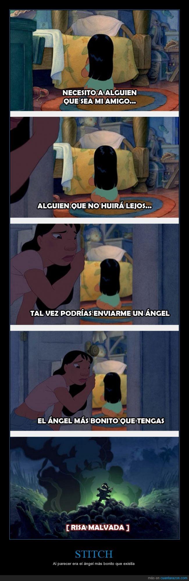 ángel,familia,Lilo,stitch