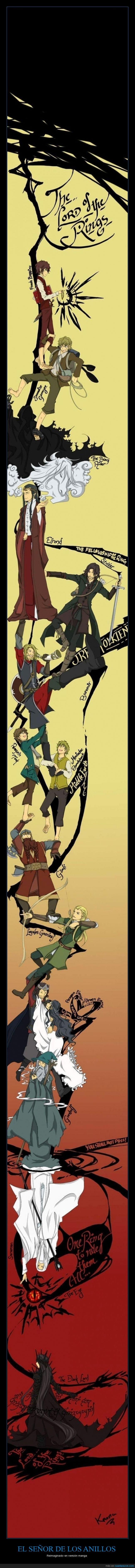 compañía,comunidad,el señor de los anillos,esdla,ilustración anime,manga,the lord of the rings,tlotr