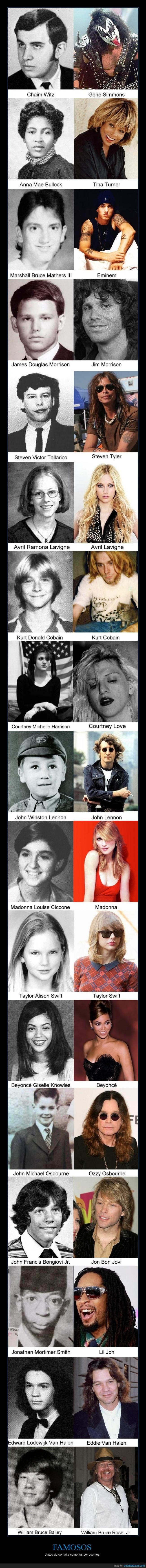 beyonce,Bon Jovi,cantante,country,famoso,famosos,madonna,musico,pop,rapero,rock,Van Halen