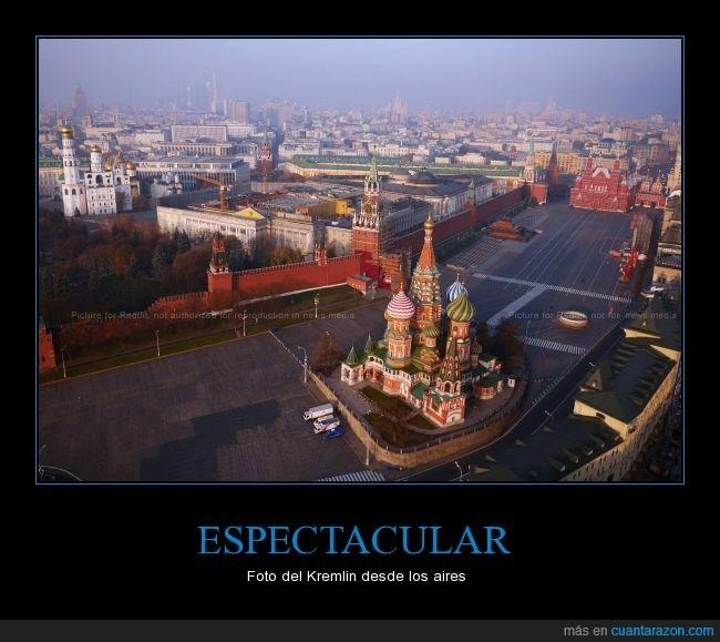 Esta prohibido volar sobre el Kremlin,Kremlin,probablemente tumbaron el avion,rusia