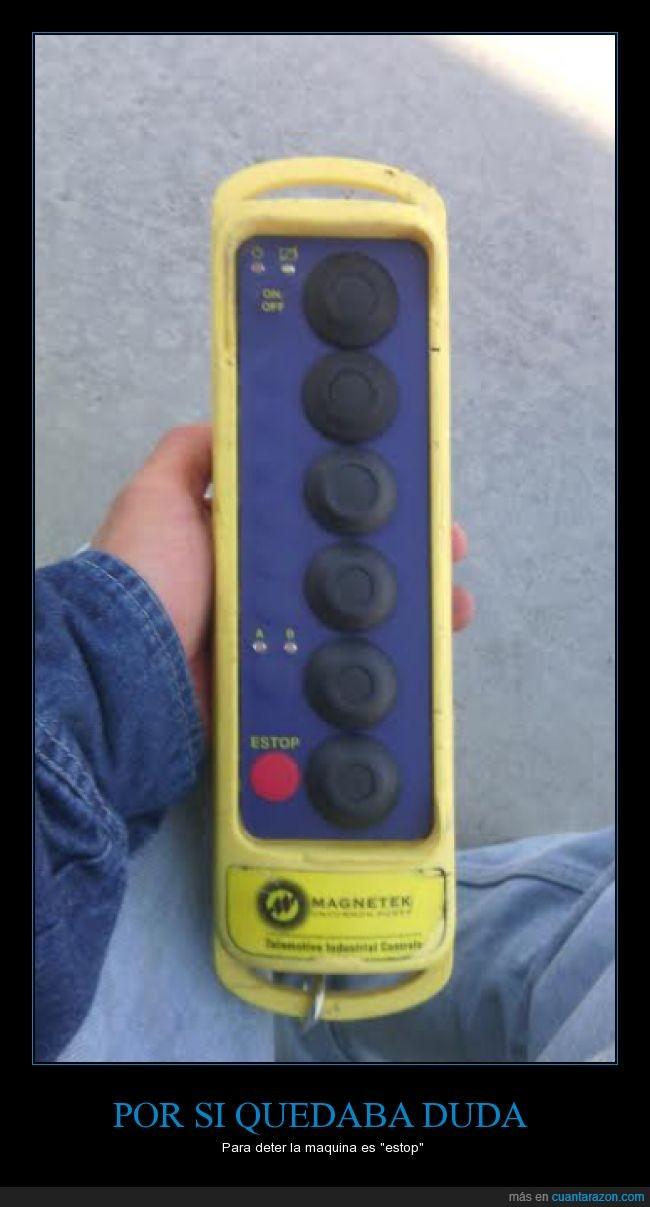 botones,control,estop,maquina,parar,stop