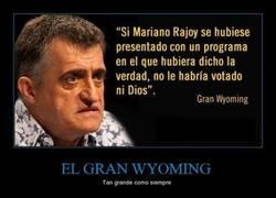 Enlace a EL GRAN WYOMING