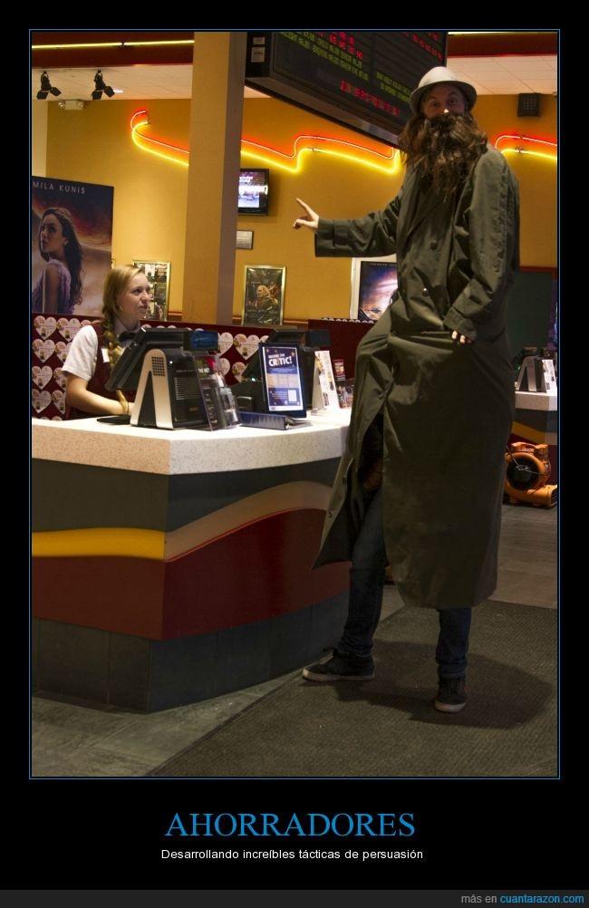 cine,colar,economico,tactica,yo antes iba a cine gratis hasta que me pillaron